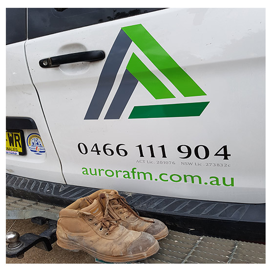 Aurora Facilities Maintenance Van